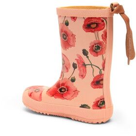 bisgaard Fashion Rubber Boots Barn nude flowers